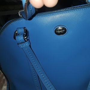 Coach bag - alma style bag  Periwinkle Blue
